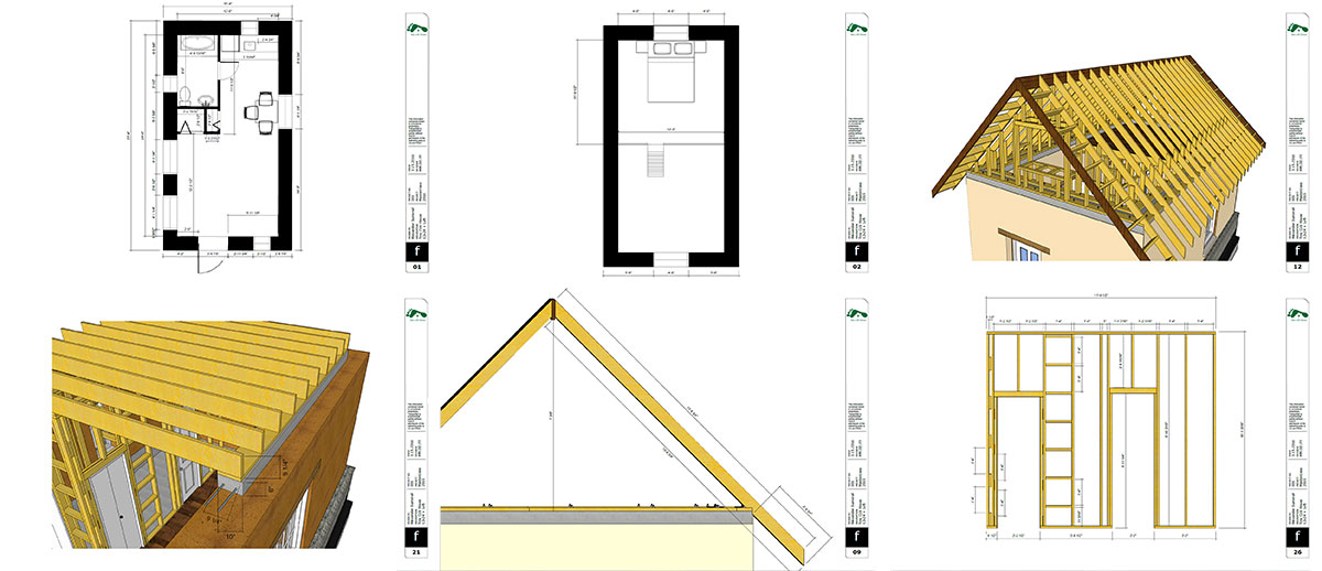 Online cob house workshop video lessons e learning get the detailed building plans for this 12 x 24 cob house fandeluxe Choice Image